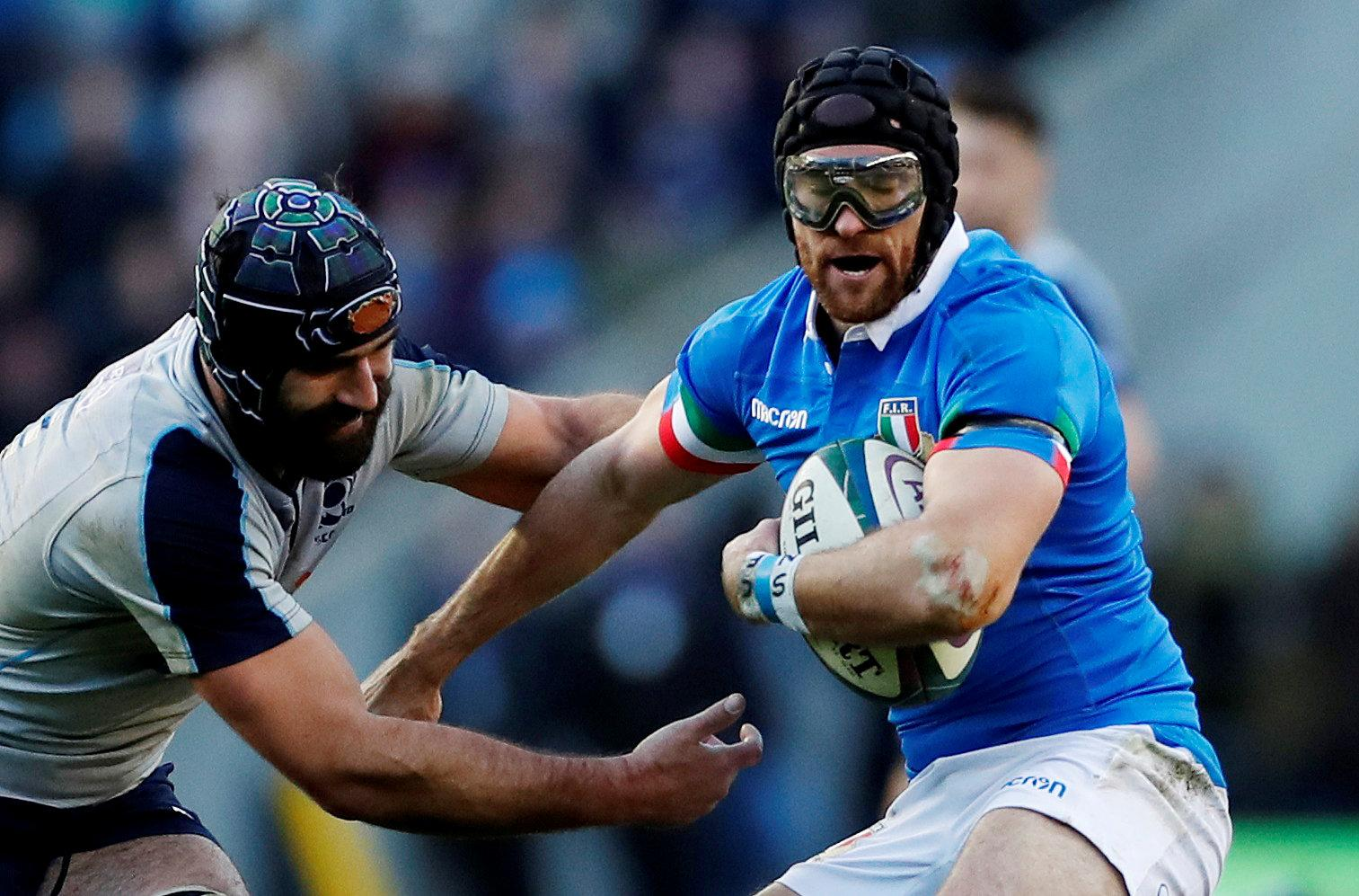 McKinley made his debut for Italy in late 2017