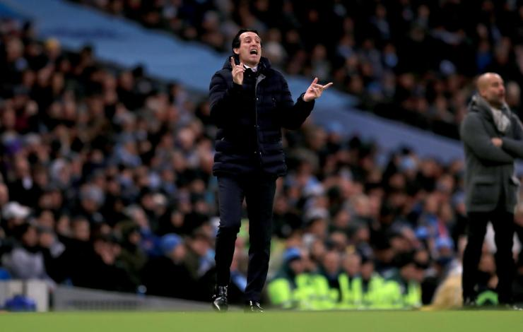 Arsenal boss Unai Emery reveales his plans for clash against Huddersfield NINTCHDBPICT000466350920