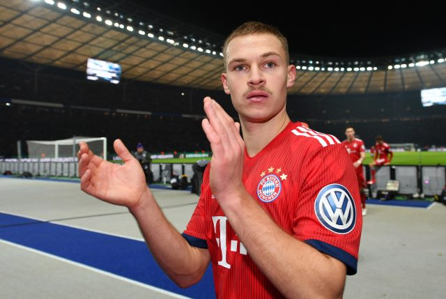 Defender Kimmich, 24, signed for Bayern Munich in 2015