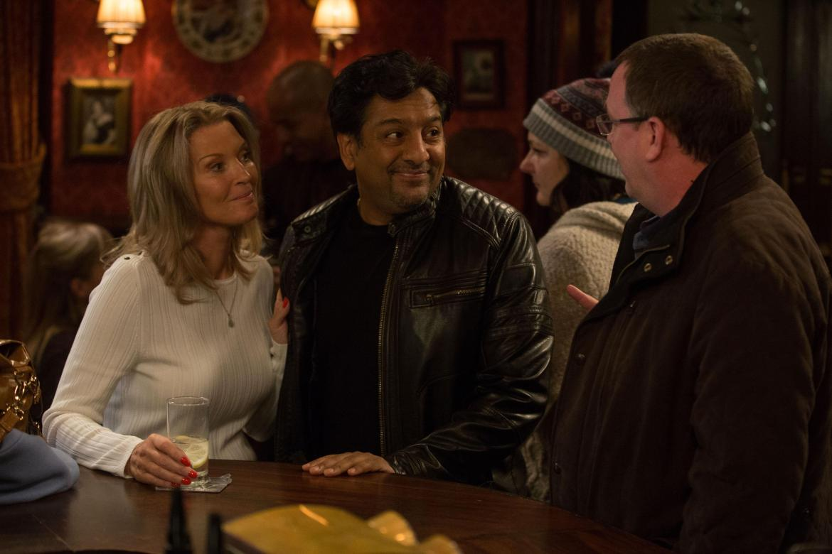The scenes will air in tonight's episode of the BBC One soap