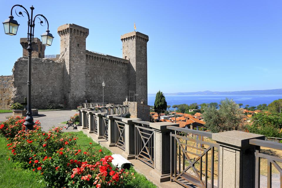 Bolsena is untouched by tourism and many people do not speak English