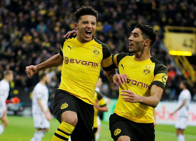 Jadon Sancho returns to London this week when Dortmund face Tottenham in the Champions League
