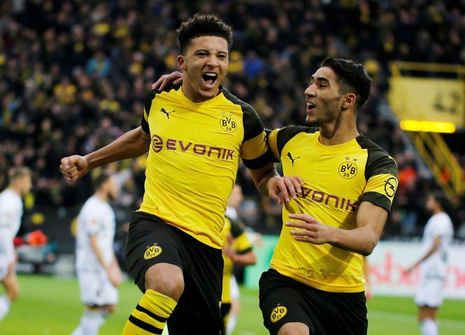 Jadon Sancho returns to London this week when Dortmund face Tottenham in the Champions League