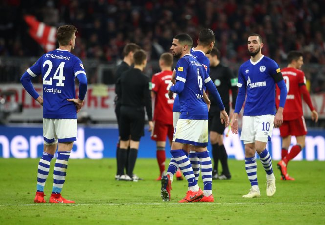 The German club have struggled in the Bundesliga this season and sit 14th