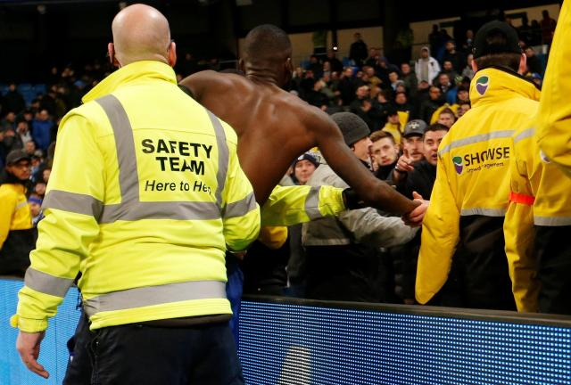 Antonio Rudiger was abused by Chelsea fans as he went over to apologise