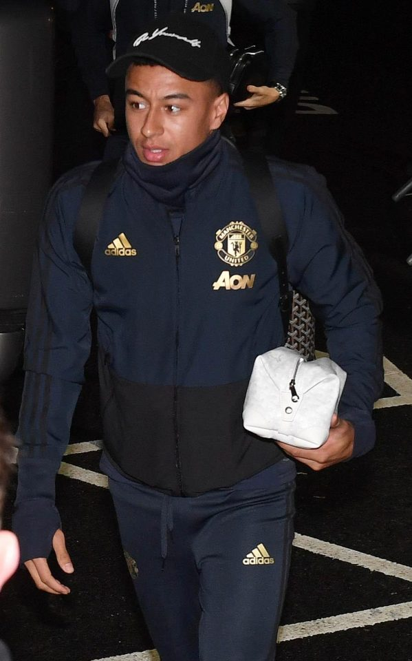 Man Utd midfielder Jesse Lingard is relaxed and confident ahead of the first leg against PSG