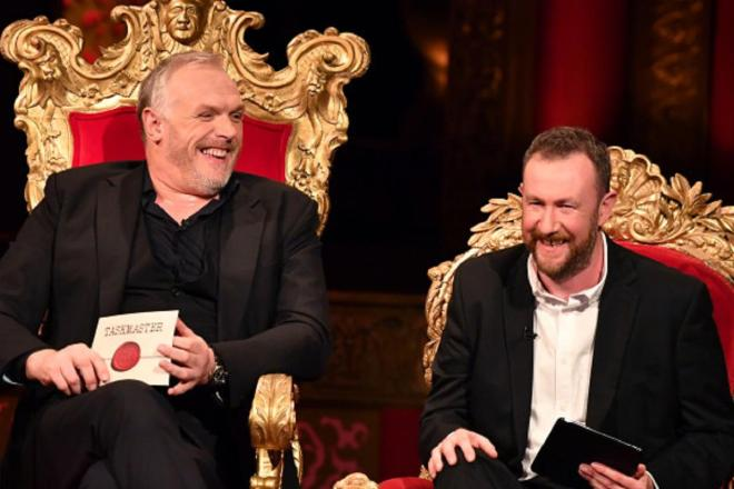 Taskmaster has proved to be a big hit and is presented by Greg Davies, left, and Alex Horne