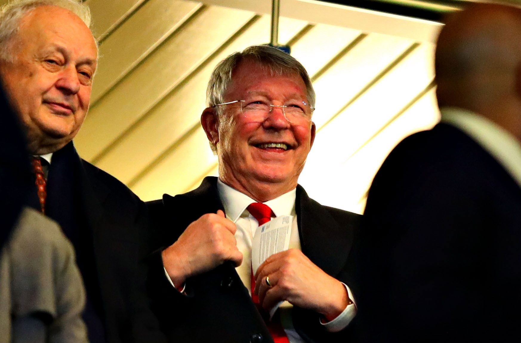 Sir Alex Ferguson spent 26 years in charge of Manchester United