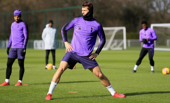 Fernando Llorente is another striker who has been tasked with filling Kane's boots of late