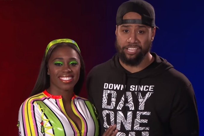 WWE couple Naomi and Jimmy Uso were two of the original stars of Total Divas