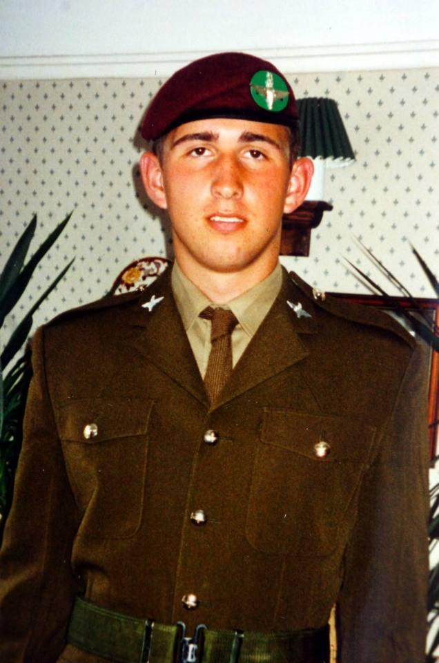 Ben Parkinson of the 7th Parachute Regiment Royal Horse Artillery