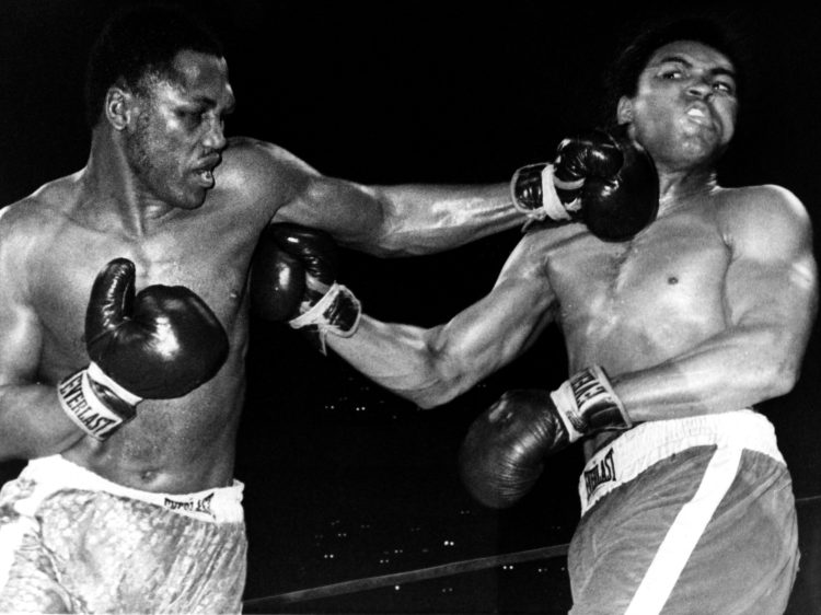 Joe Frazier took on Muhammad Ali in a fight that Mikey Garcia and Errol Spence could rival at at Dallas Cowboys' 100,000-seater A&T Stadium on Saturday night