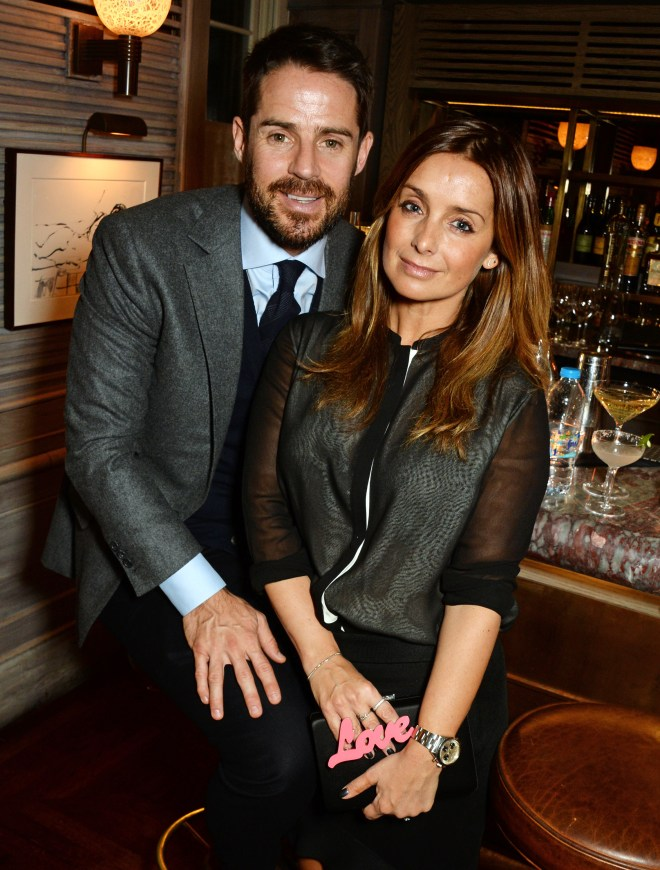 Louise Redknapp was associated with the Strictly curse after leaving husband Jamie