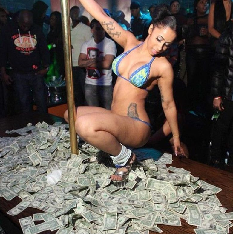 Image result for Cardi B  her days as a stripper
