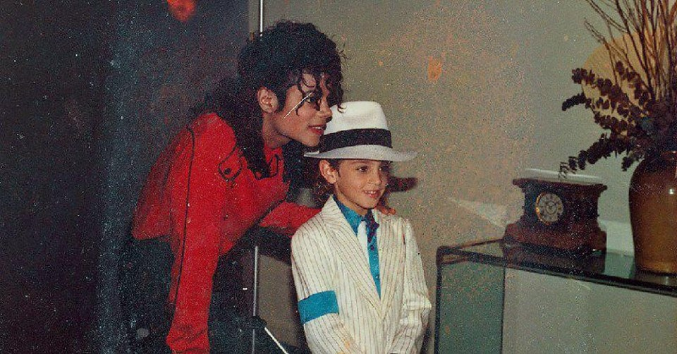 Michael Jackson with Wade Robson - who he has accused the King of Pop of sexual assault