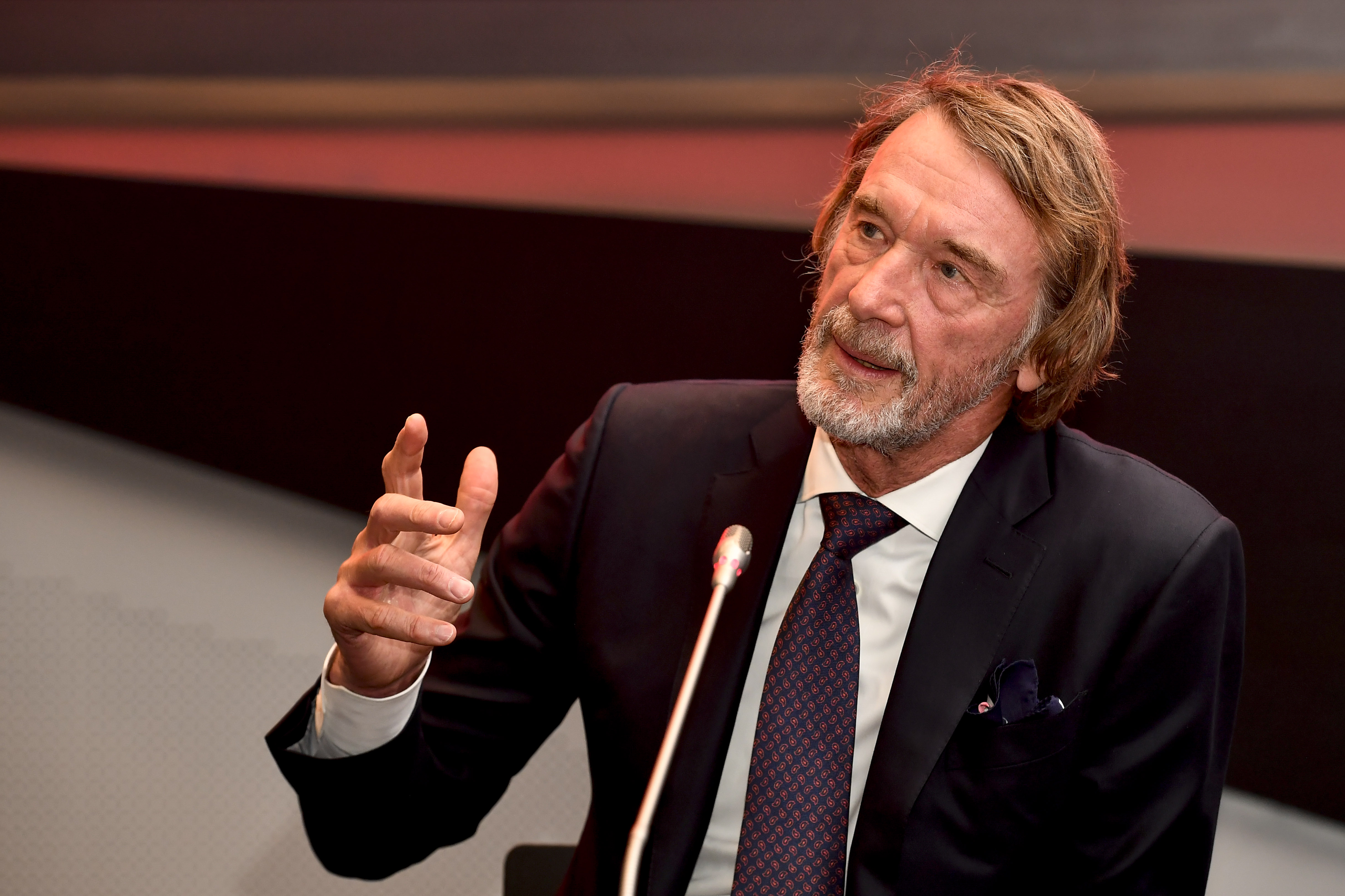Britain's richest man, Sir Jim Ratcliffe, is interested in a takeover of Chelsea