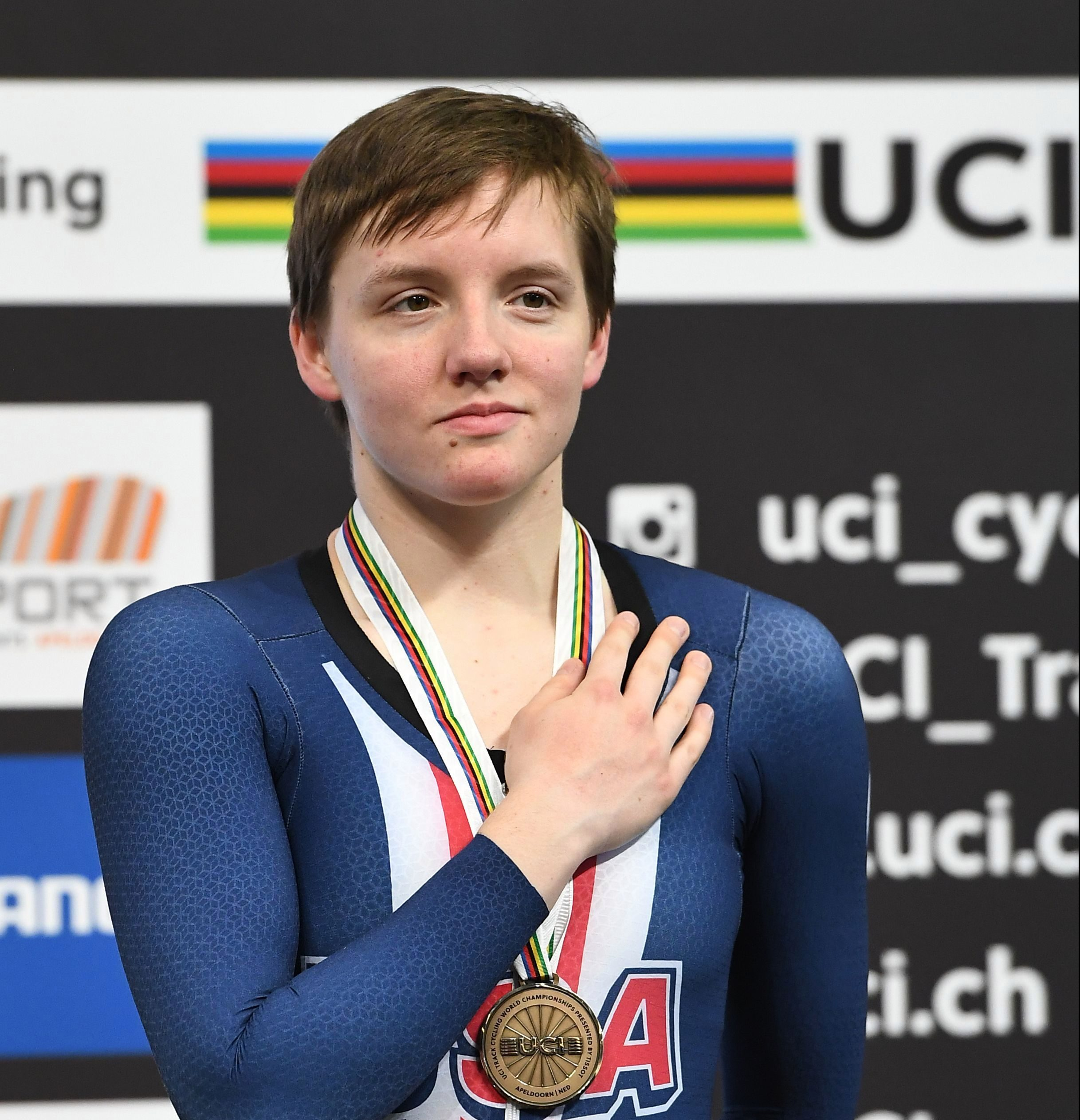Kelly Catlin was one of the world's top female cyclists and an Olympic medallist