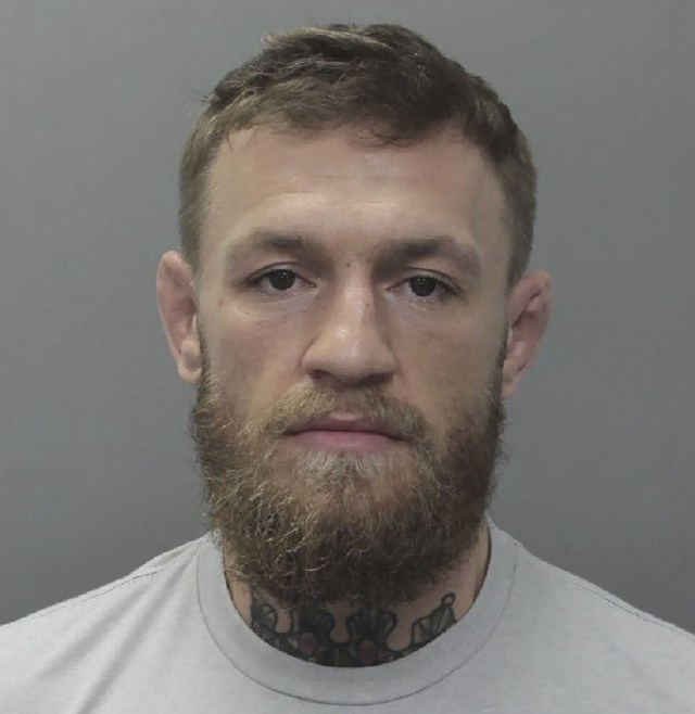 Conor McGregor was arrested after a clash with a fan in Miami at 5am