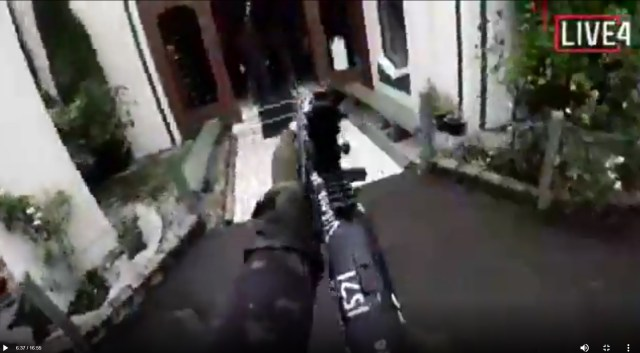 New Zealand Shooter Live Stream Image: Christchurch Mosque Shootings
