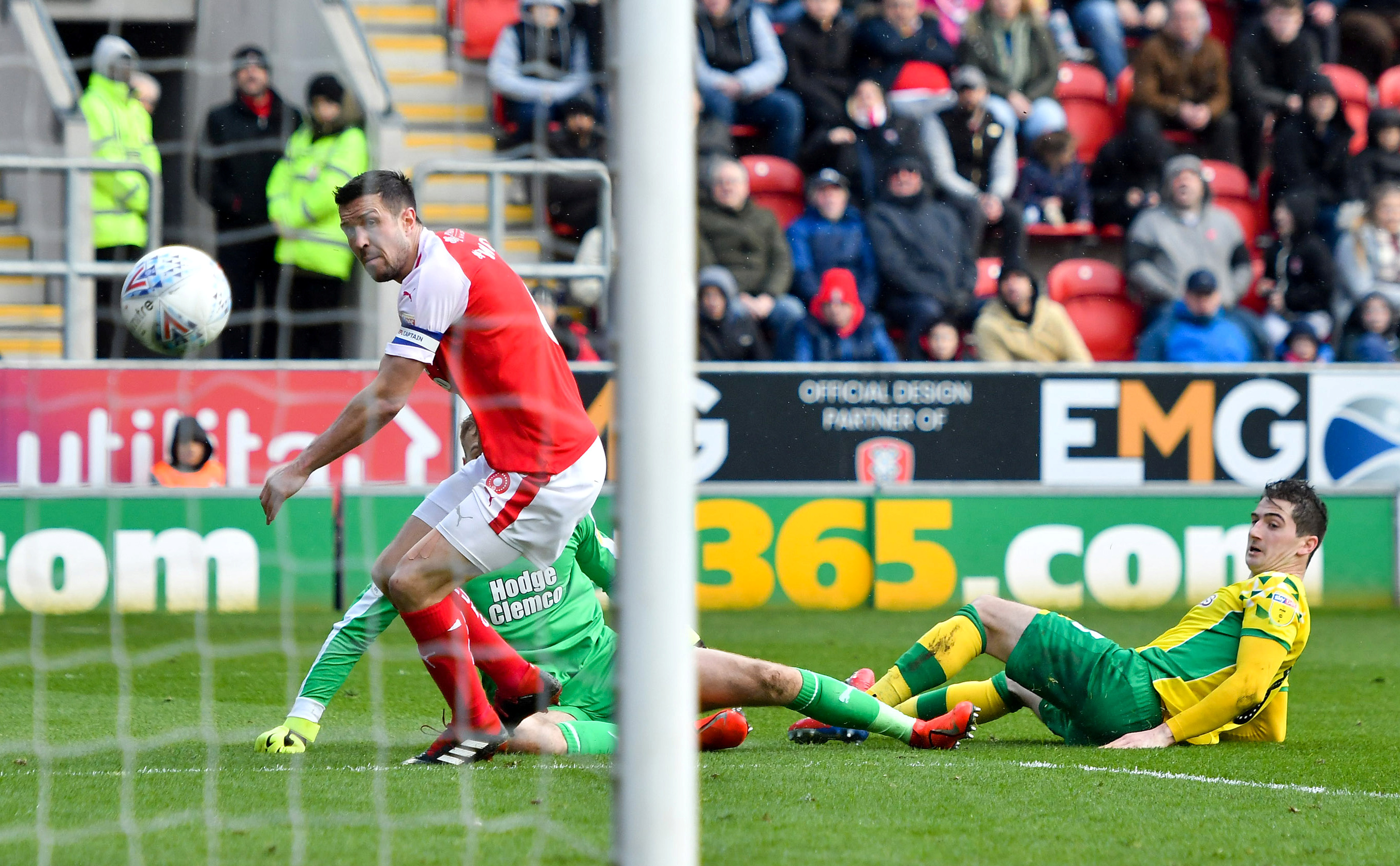 Kenny McLean gave Norwich the lead on the stroke of half time