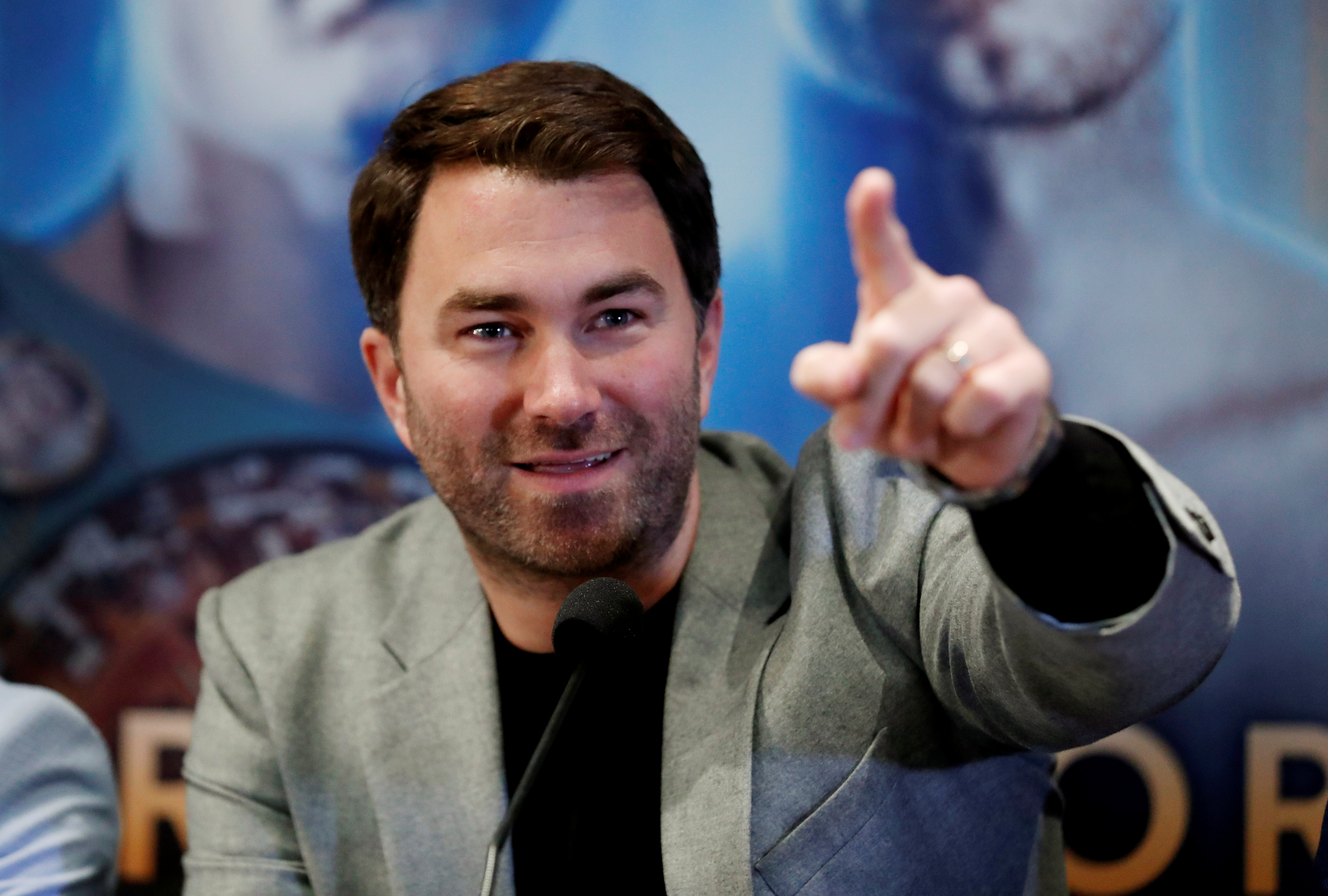 Even promoter Eddie Hearn was shocked by the state of Fitzgerald's face after the bout