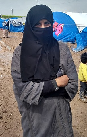 Tooba has surfaced in a refugee camp in Syria