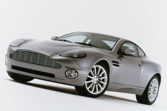 Aston Martin Vanquish was a real piece of indulgence on my part, says Ian