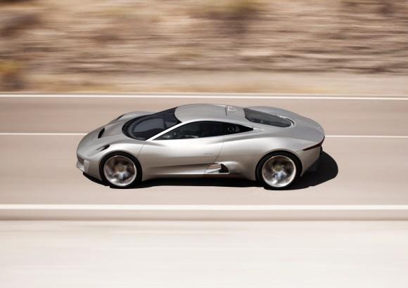 Jaguar C-X75 is the motor seen in James Bond movie Spectre