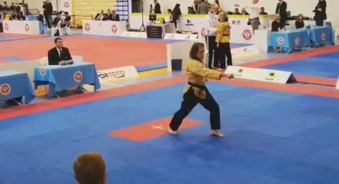 Stoke legend Mike Pejic wins Taekwondo European Championship