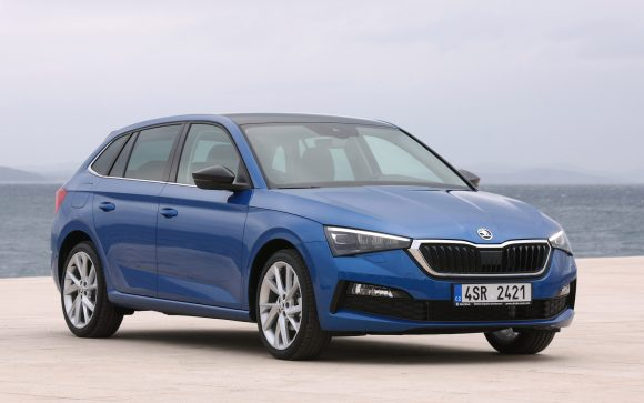 You know the Scala is a sorted VW under the skin but it hits on all of Skoda's trademark selling points — fuss-free looks, good value for money and big practicality