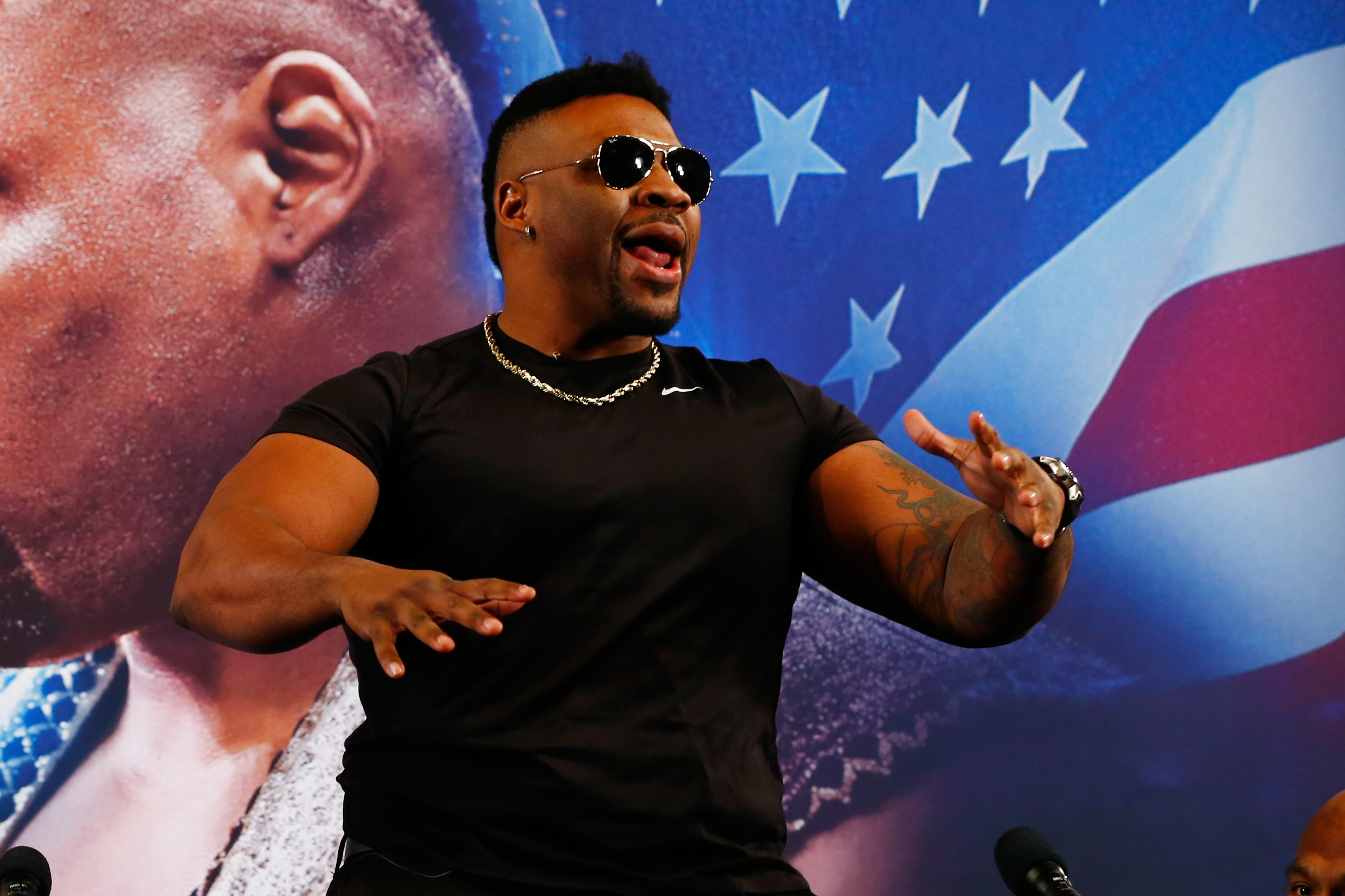 Jarrell Miller was exposed as a three-time drug cheat after failing a hat-trick of VADA tests