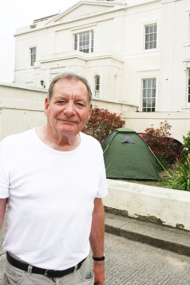 Resident Robin Biggs said that rubbish had collected at the site