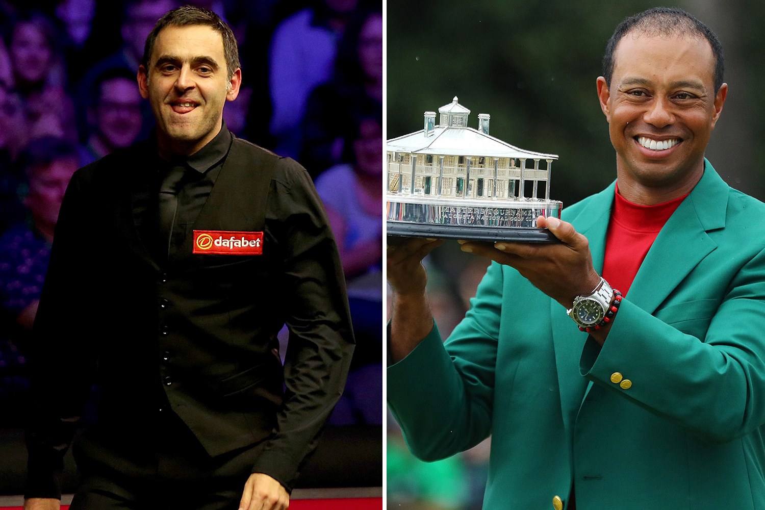 Ronnie O'Sullivan will be looking to follow in the footsteps of golfing legend Tiger Woods by returning to winning ways on the world stage