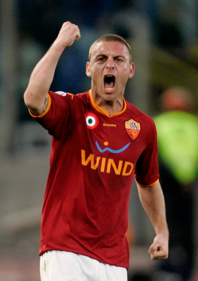 Daniele De Rossi is leaving Roma at the end of the season