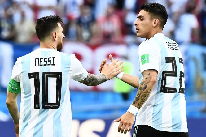 Cristian Pavon could be lining up with Lionel Messi on the international stage and Troy Deeney for his club next season