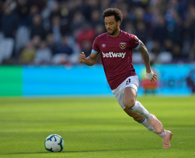 Felipe Anderson is likely to remain West Ham's record signing after his £41m move last summer