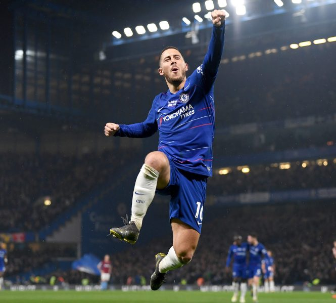 Eden Hazard stunned the Stamford Bridge crowd - and the West Ham defence - with his superb solo effort