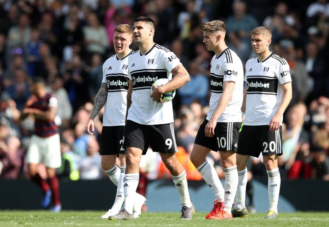 Despite spending £100million in the summer, things did not go to plan for relegated Fulham this season