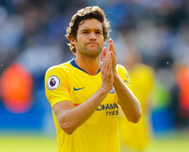 Marcos Alonso is a target for Atletico Madrid who are set to lose both left-backs this summer