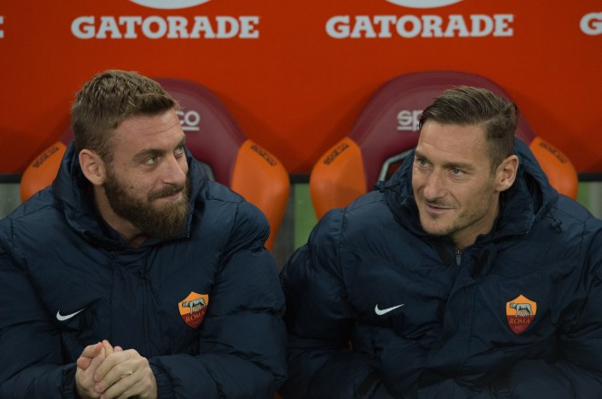 De Rossi will always be remembered fondly by Roma fans as one of their greats like Francesco Totti