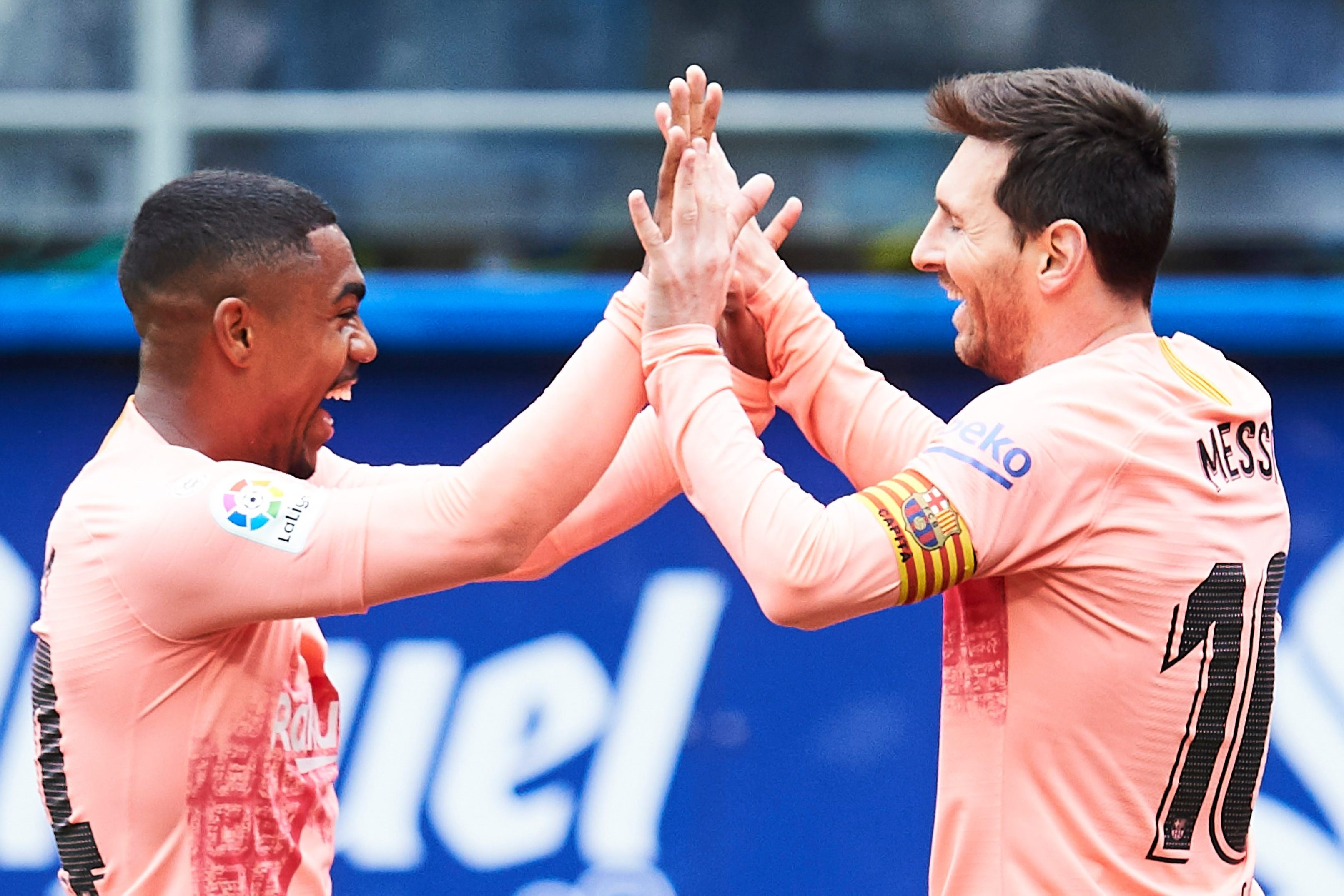 Lionel Messi scores 50th goal of season as Barcelona draw at Eibar
