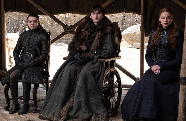 The remaining Starks in Game of Thrones series finale