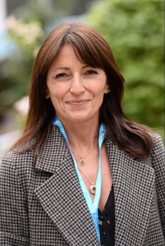 Davina McCall attended a press day at the Chelsea Flower Show