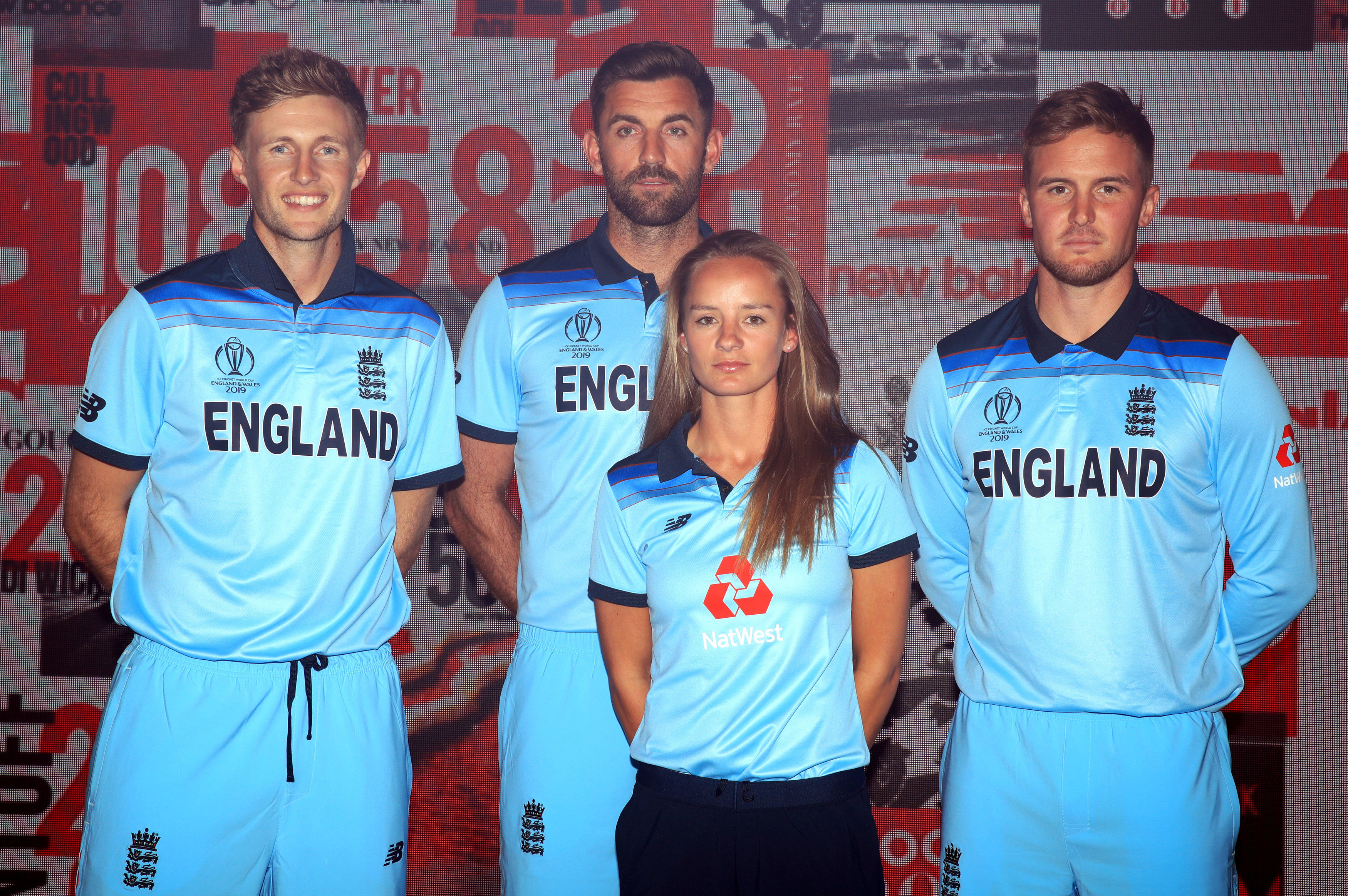 England have unveiled their new World Cup kit