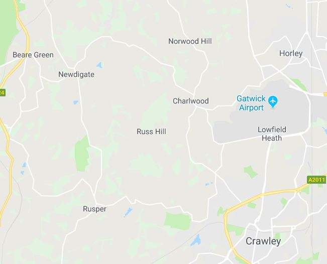 Residents in Surrey have been woken up by buildings'violently shaking' after an earthquake struck near Gatwick Airport