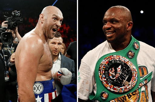 Dillian Whyte claimed Tyson Fury should be ashamed of ducking him to fight Tom Schwarz