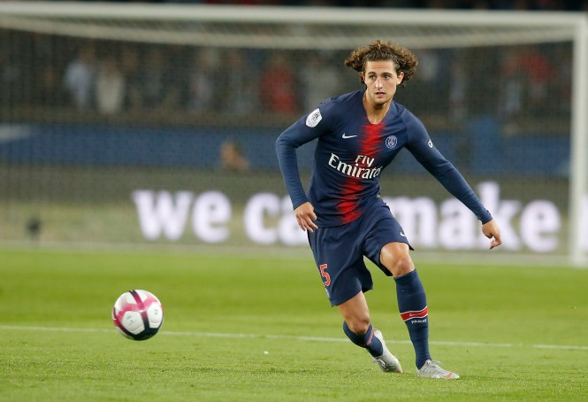 Adrien Rabiot has not played a match since December 11 but would be available for free