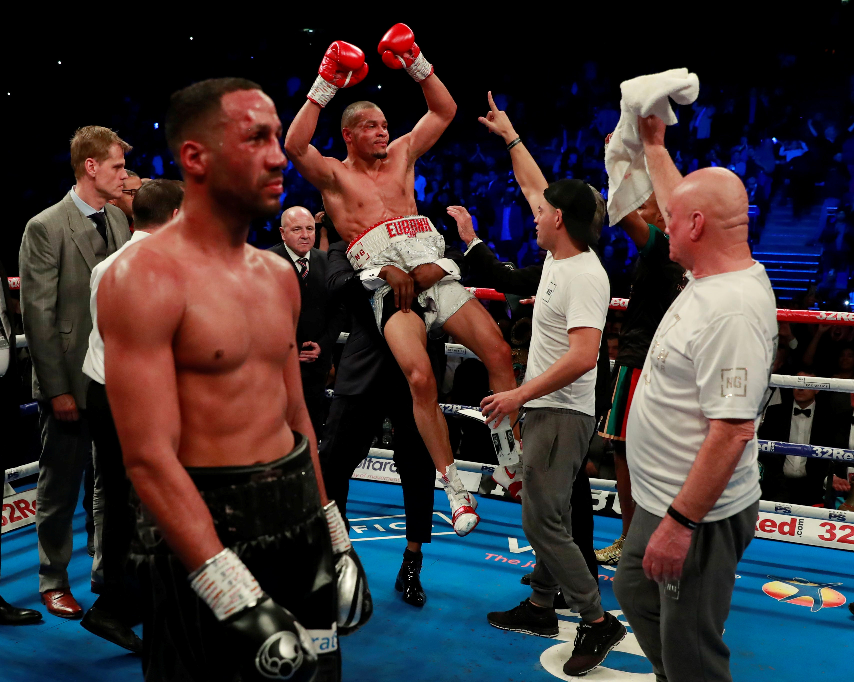 Eubank has tipped pal Joshua to bounce back from defeat, like he has in the past