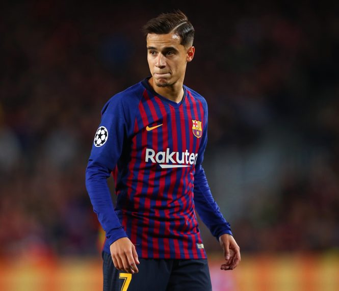 Philippe Coutinho joined Barcelona in January 2018 but has struggled since so could head back to England