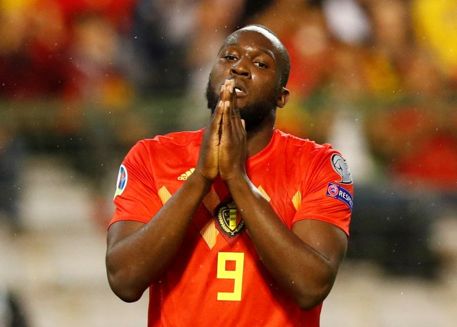 Romelu Lukaku was left out of United's fixture announcement